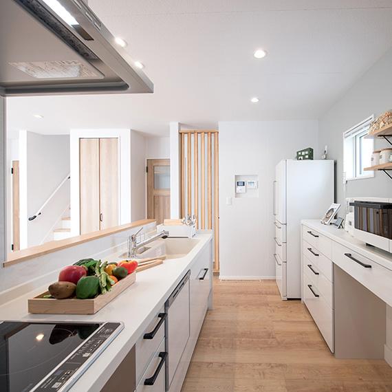 エコ住宅キッチン