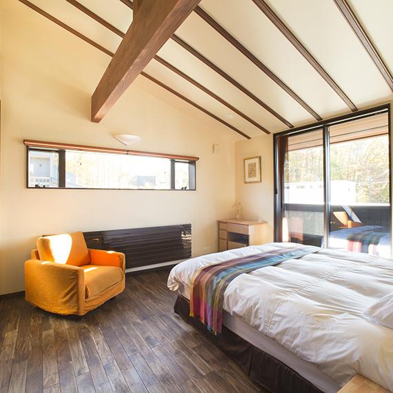 くらすの家寝室