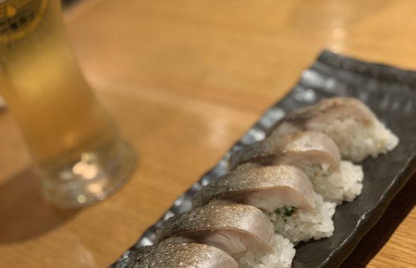 〆サバのお寿司