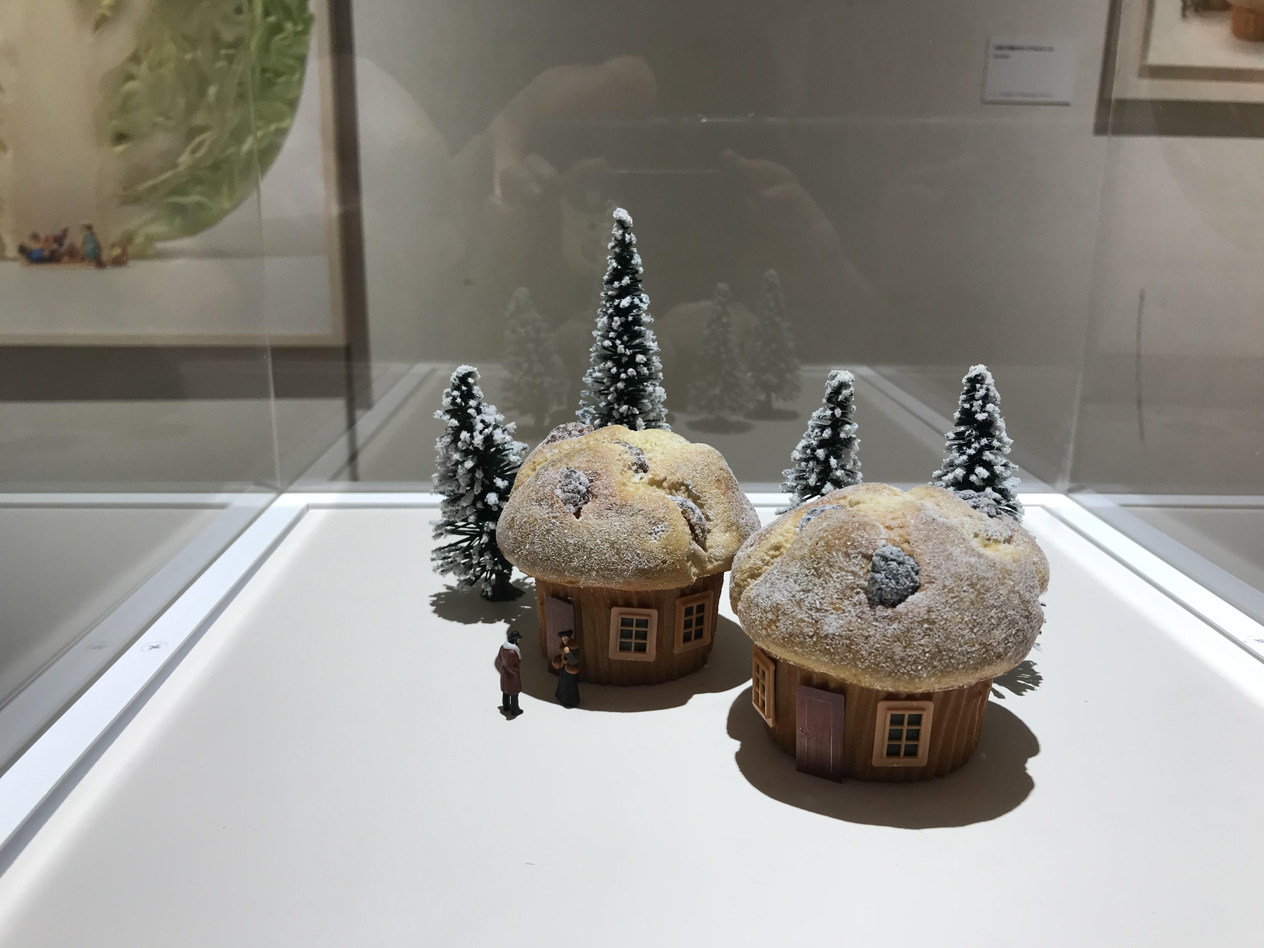 ミニチュア展 ケーキのお家