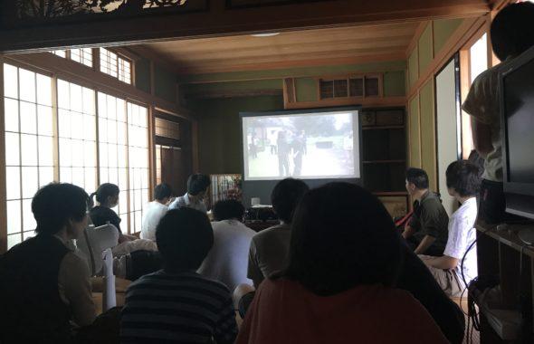 子供サポートチームすわで作った動画を鑑賞する