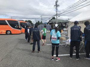 第3回松本マラソン棄権者はバスへ、僕は道路へ