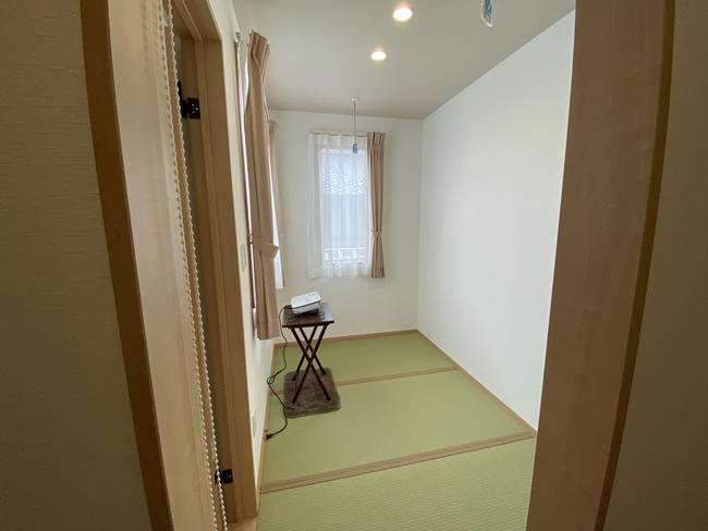 長野県茅野市エルハウス施工事例和室