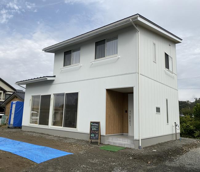長野県茅野市エルハウス施工事例外観