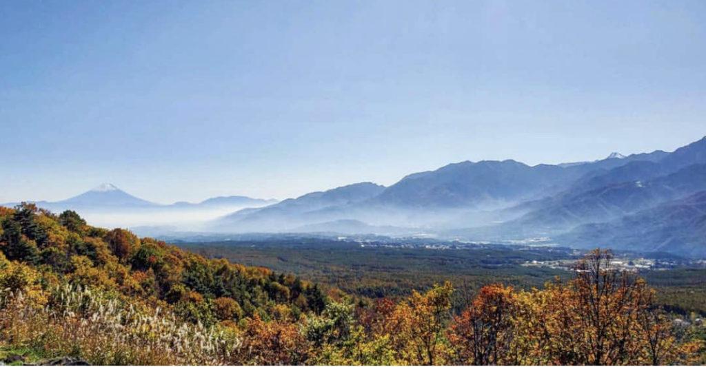 富士見高原リゾート想像の森展望台