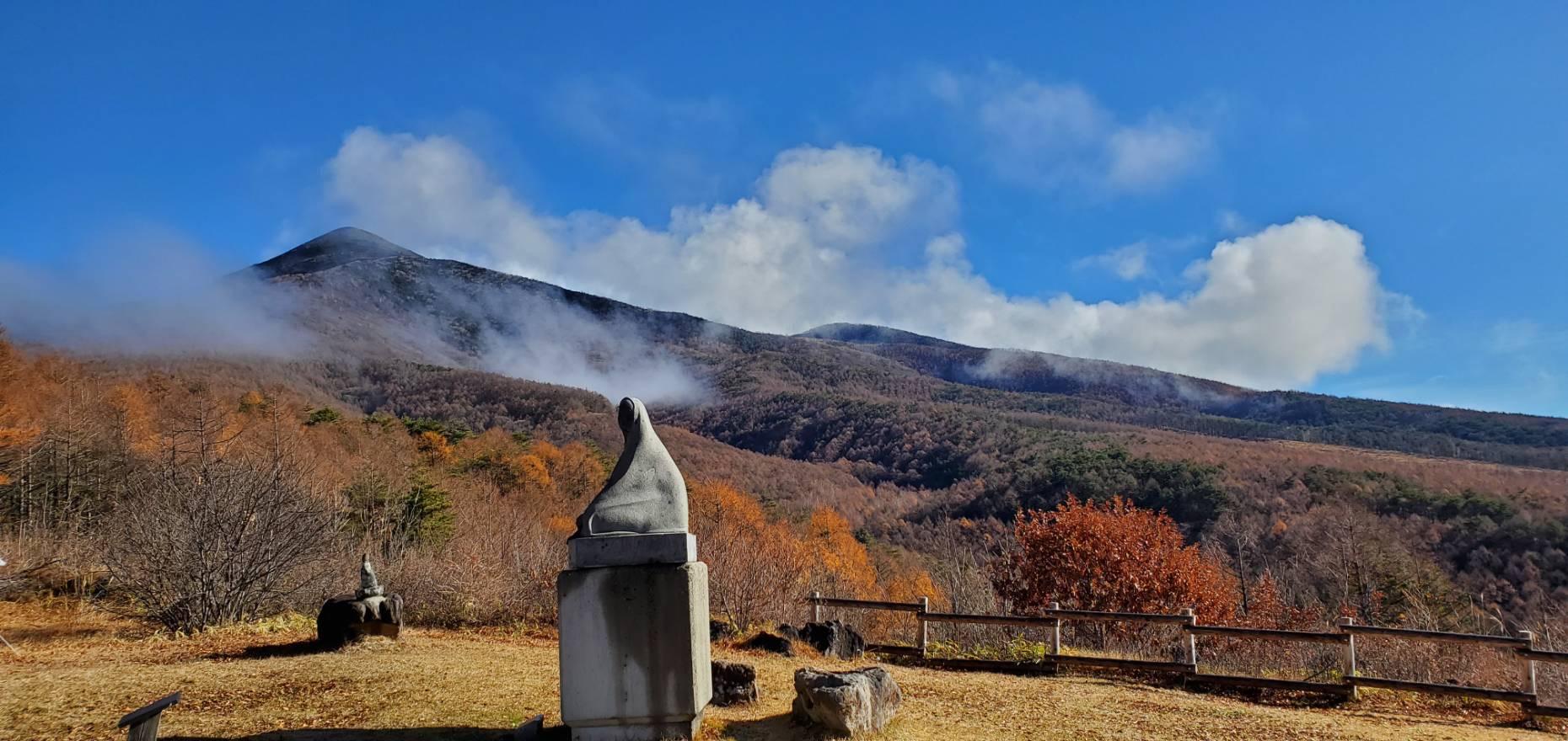 富士見高原から見る八ヶ岳麓