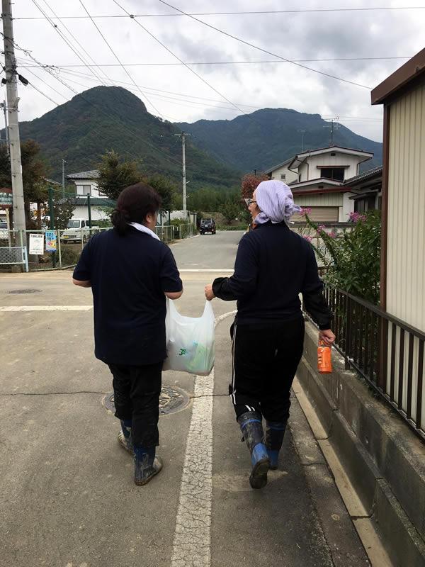 台風19号災害ボランティア参加エルハウス