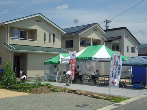 長野県茅野市エルハウス完成見学会