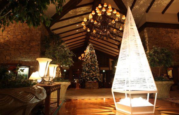 エクシブ蓼科のクリスマスツリー