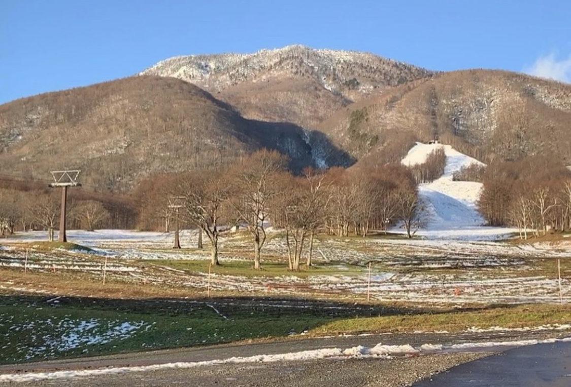 黒姫高原スキー場の1月現状