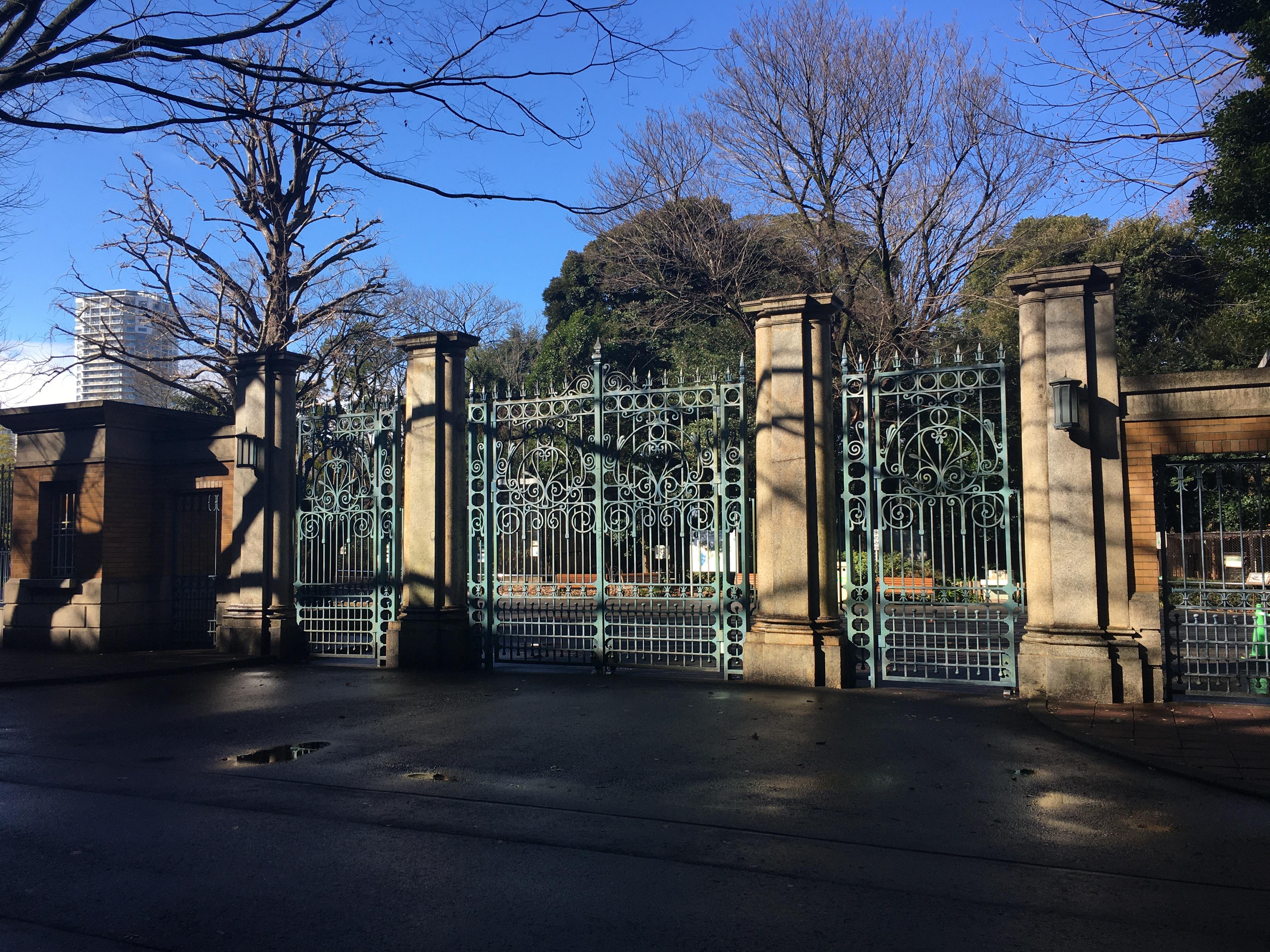 上野動物園門扉