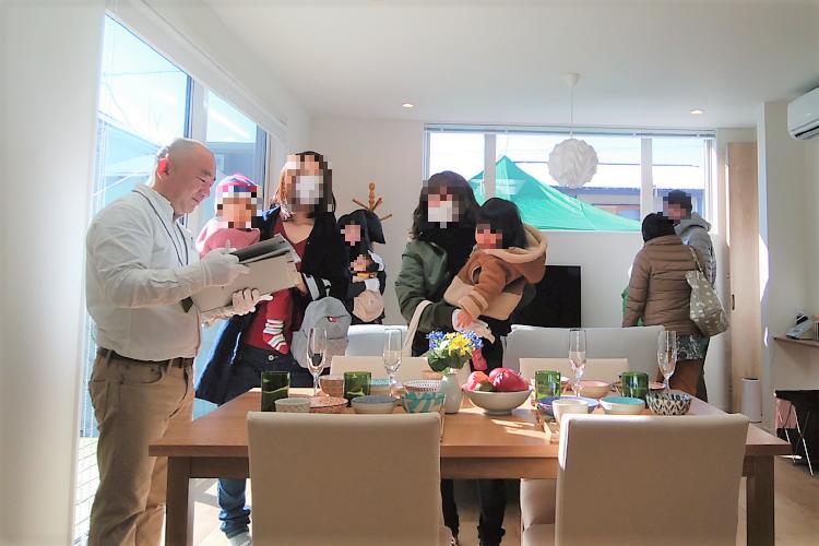 長野県茅野市工務店エルハウス見学会