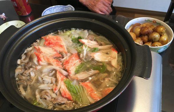 カニカマ鍋