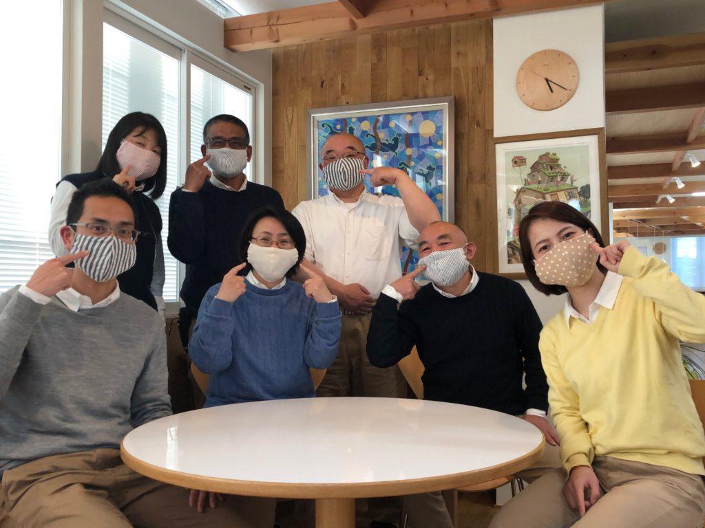 みんなでマスク