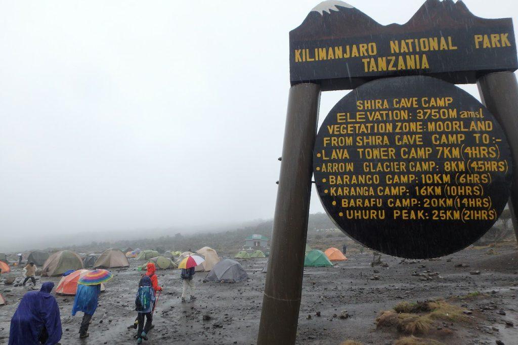キリマンジャロに登る