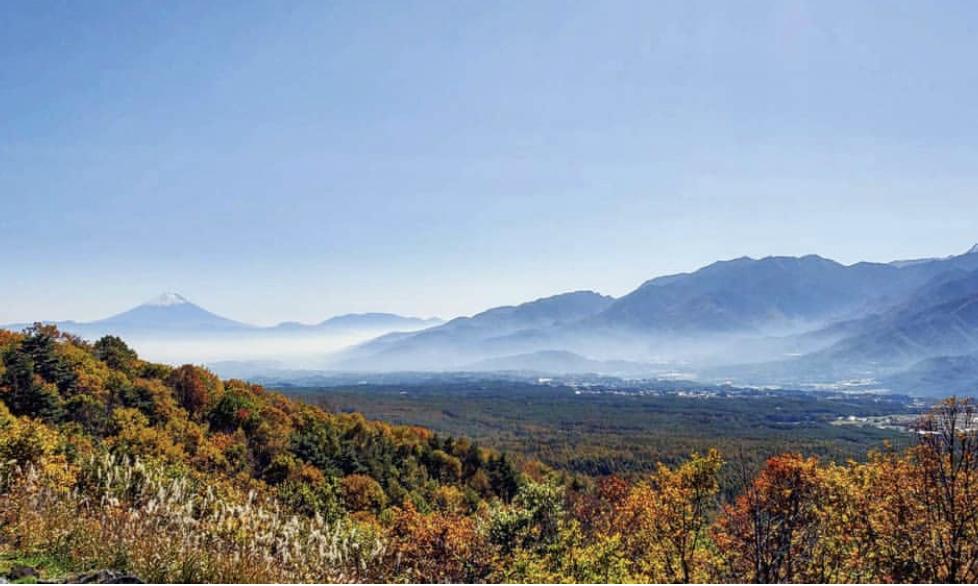 日本3大高峰の景色