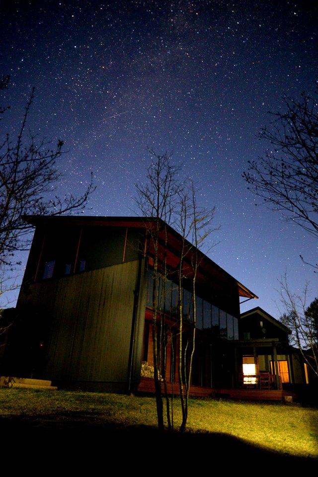 エルハウスデザイナーズ住宅「くらすの家」夜空