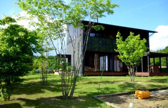 諏訪郡原村の風景
