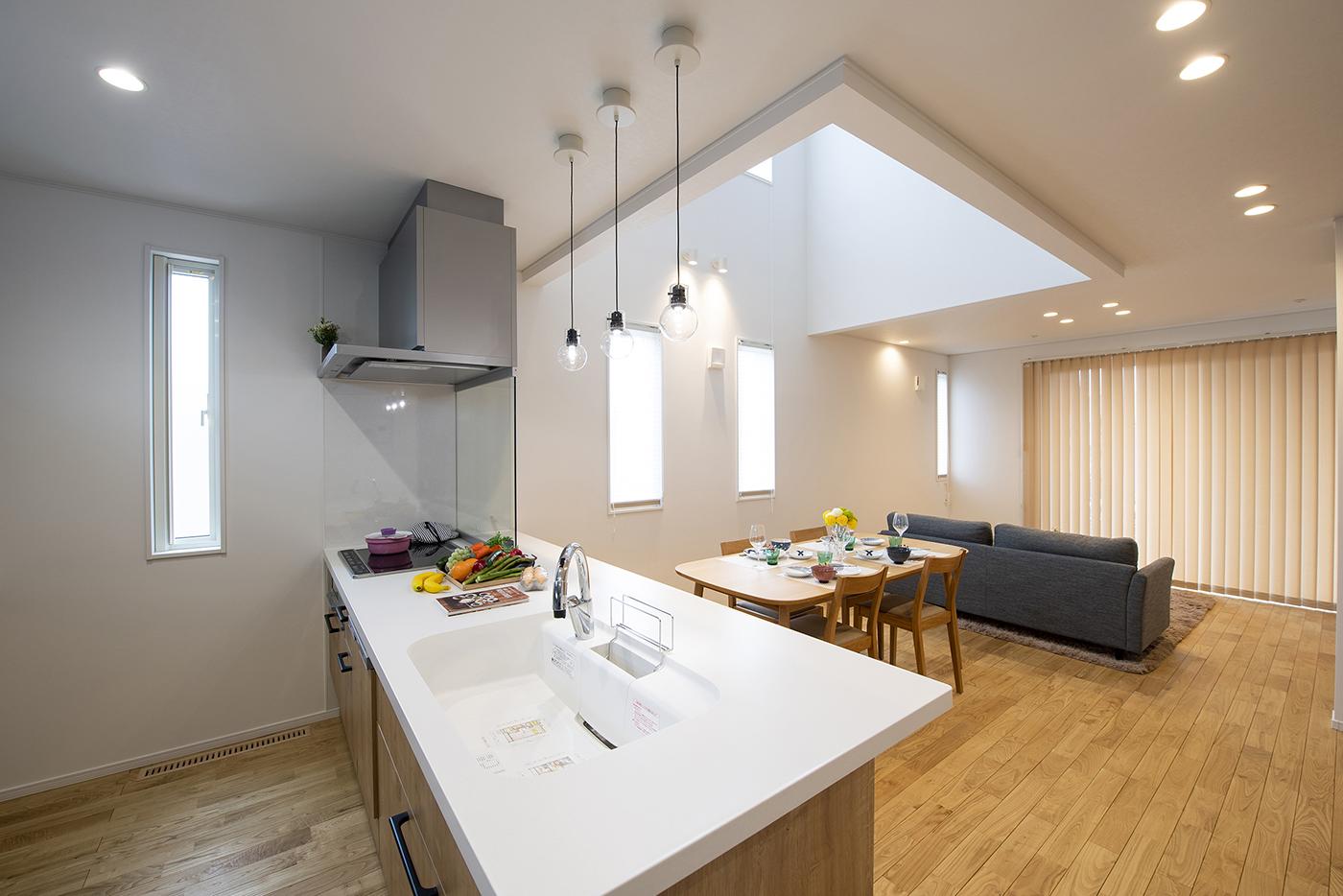 エコ住宅 キッチン