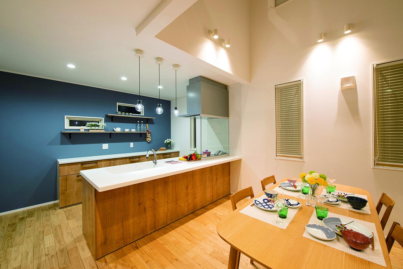 エコ住宅 リビングキッチン