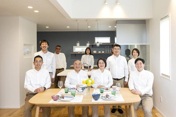 茅野市工務店エルハウスのメンバー