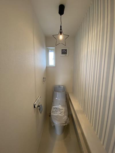 エルハウス施工事例トイレ照明