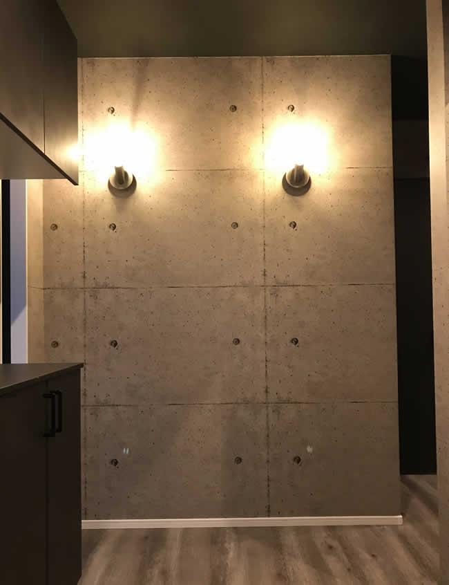 エルハウス施工例クロス玄関