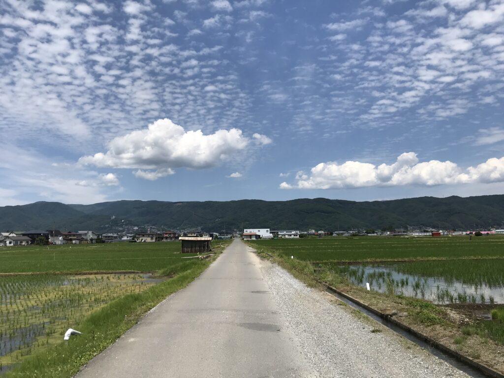 諏訪の名風景「田辺壕」(たんべごう)