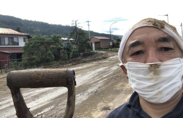茅野市内災害復旧ボランティア