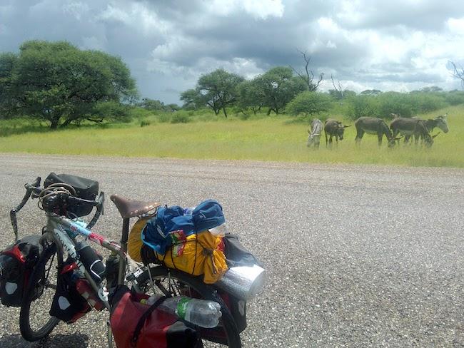アフリカ自転車旅